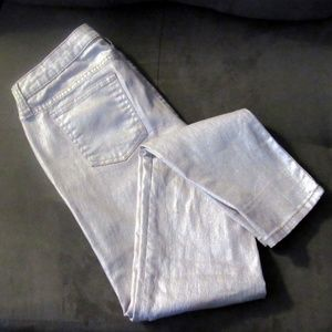 Decree Pink Sparkle Shimmer Fashion Jeans Size 7